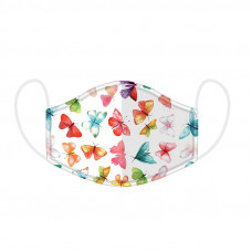 NEW: Butterfly House Double-Layered Reusable Face Covering