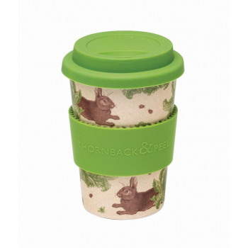 NEW: Thornback & Peel Rabbit and Cabbage Reusable Husk Travel Mug