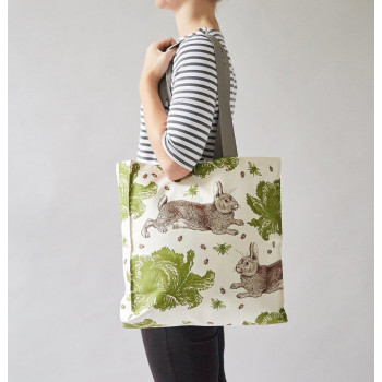 NEW: Thornback & Peel - Rabbit and Cabbage Tote Bag