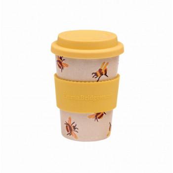 NEW: Emma Bridgewater Bee Print Reusable Husk Travel Mug