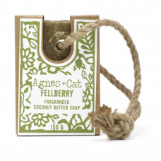 SALE: REDUCED TO £4.99 Agnes + Cat Soap On A Rope – Fellberry  FABULOUSLY SCENTED!