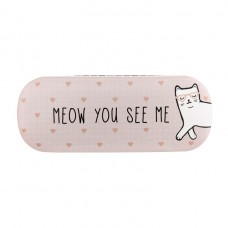 Cute Cat Glasses Case