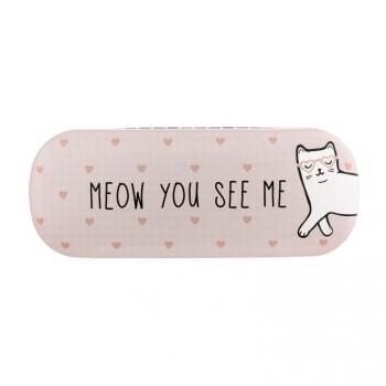 Cute Cat Glasses Case