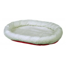 Cuddly Bed White/Red Reversible
