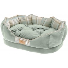 NEW Small Super Snug and Stylish Ferplast Charles Sofa-Style Bed - Green