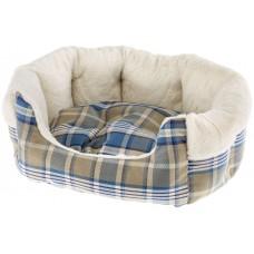 NEW Medium Super Snug and Stylish Ferplast Etoile Padded Bed - Blue