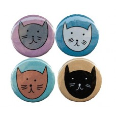Cat Magnets - Pack of 4
